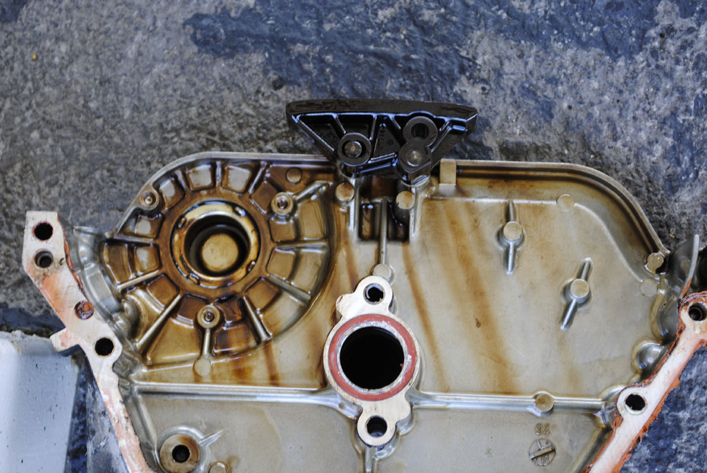 M104 992 / 95E320 Timing Cover Seal Replacement Steps and Pics